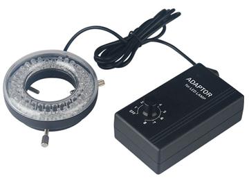 Standard LED Ring Light with Dimmer 64 LEDs 6/8cm