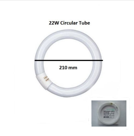 22 W Circular Tube (Narva)
