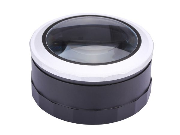 Low Vision Reading Magnifier with LED illumination