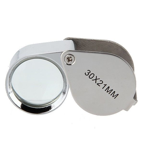 30x-21mm Jewel Loupe Magnifier