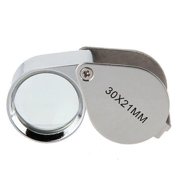 30x-21mm Jewel Loupe Magnifier