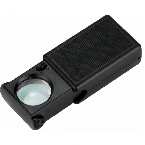 45x – 25mm Sliding Magnifier with 2 LED's