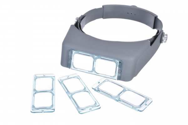 Magnifying Headset with Interchangeable Lens