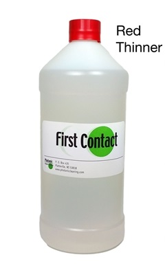 Red First Contact Thinner 500 ml Bottle – RTFCF