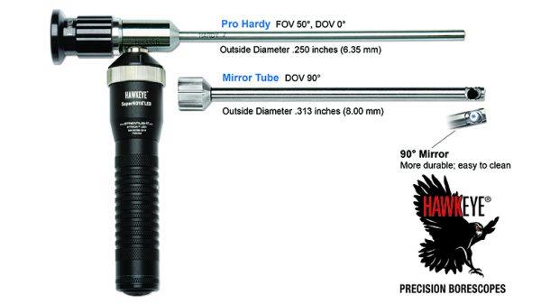 Hawkeye® Pro Hardy Borescopes .250″ (6.35 mm)
