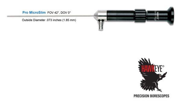 Hawkeye® Pro MicroFlex Semi-Rigid Borescopes .035″(0.9 mm)