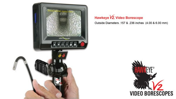 Hawkeye® V2 Video Borescopes (4.0 or 6.0 mm dia.)